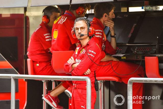 "Laurent Mekies, Sporting Director, Ferrari <span class=""copyright"">Mark Sutton / Motorsport Images</span>"