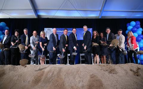 MassMutual Celebrates Groundbreaking of Future Boston Building at Fan Pier