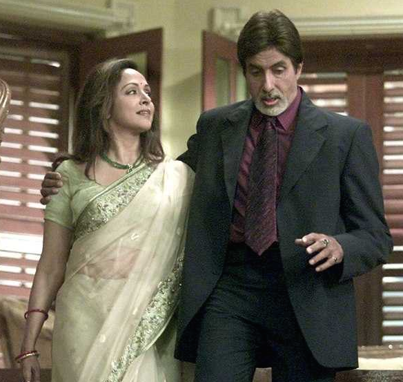 Amitabh Bachchan and Hema Malini return as a pair after ages for this film about a senior couple that keeps their romance going despite being separated by their ungrateful children.