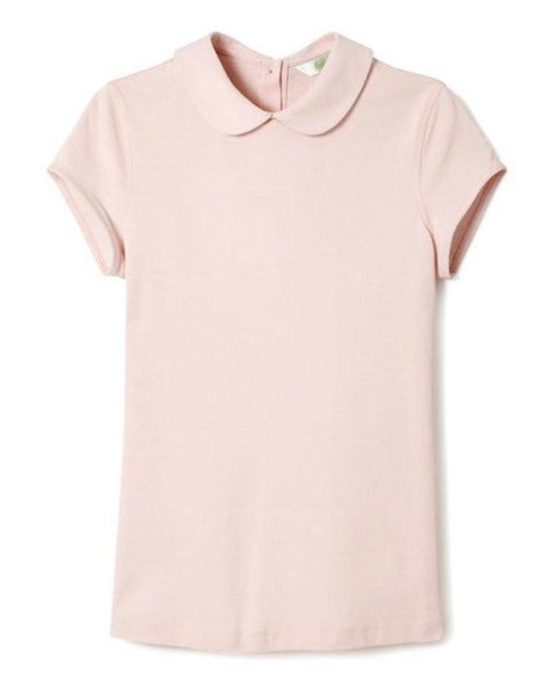 "$110; buy now at <a rel=""nofollow"" href=""https://fave.co/2BuvpUY"">hedgenewyork.com</a> <p>This elegant women's polo features a rounded collar, cap sleeves, and buttons on the back, making it a smart and sleek option for the course. Plus the light-and-airy Hedgerose color works great for the spring months ahead.</p>"