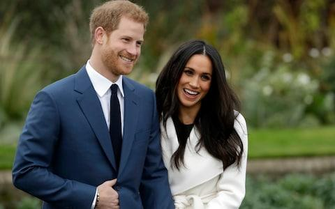 Prince Harry and Meghan Markle will marry on Saturday - Credit: AP