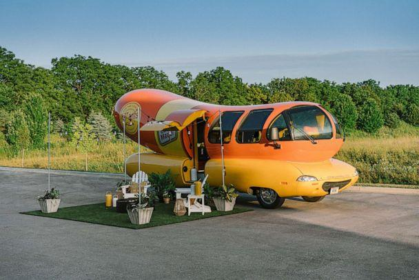 PHOTO: A look at the Oscar Mayer Wienermobile which will be available to book on Airbnb beginning Wednesday July, 24. (Airbnb )
