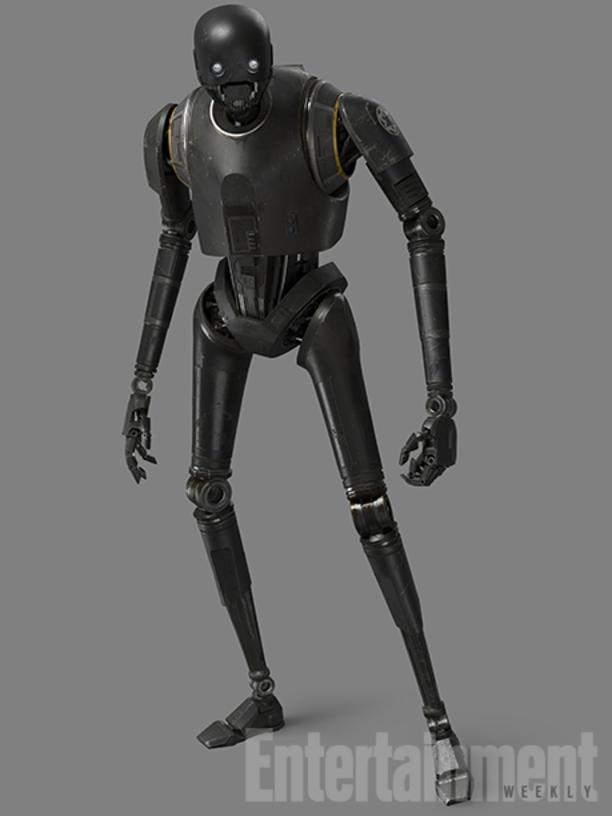 """It was a passion of Gareth's to find this character -- and we really think he's going to be the next big breakout droid,"" says creature-effect supervisor Neal Scanlan. (More about the newest Star Wars droid, voiced by Alan Tudyk, can be found here.)"