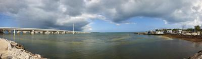 There's always a panoramic view when you visit Big Pine Key Fishing Lodge.
