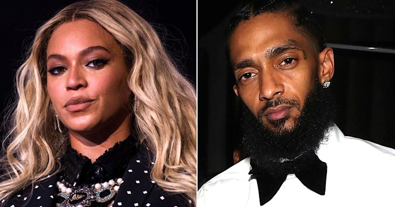 568cef37692 Beyoncé Sends Prayers to Rapper Nipsey Hussle s Family After He Dies of  Multiple Gunshot Wounds