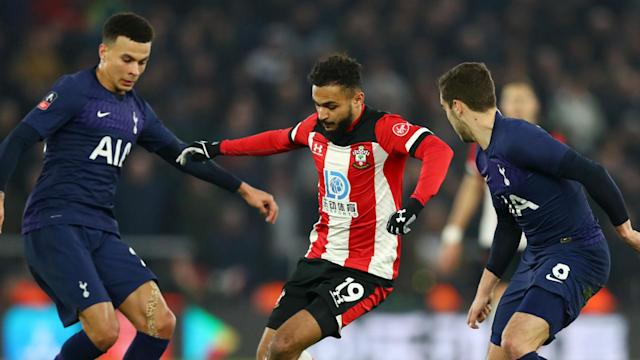 Tottenham succumbed to Southampton's late charge at St Mary's, with Sofiane Boufal cancelling out Son Heung-min's opener.