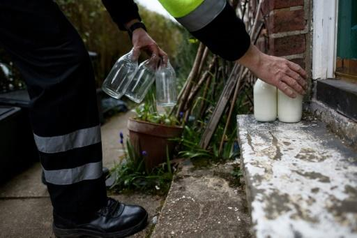 Coffee shops and office blocks in England, also shut because of COVID-19, are no longer receiving their early morning deliveries, although there has been a hike in the amount of milk being dropped off at people's homes in time for breakfast