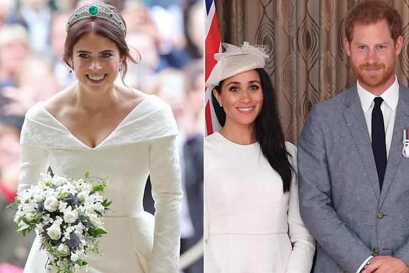 How Princess Eugenie Reacted to Meghan Markle and Prince Harry Sharing Baby News at Her Wedding