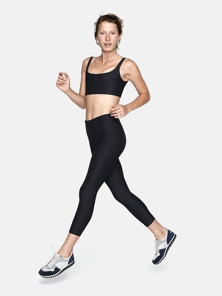 <p>This <span>Outdoor Voices 3/4 Warmup Leggings</span> ($75) and <span>Double Time Bra</span> ($45) set is so comfortable and effortless. It's made of textured compression, so it holds you in without feeling restrictive.</p>