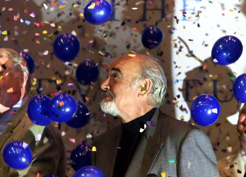 FILE PHOTO: Scottish actor Sir Sean Connery opens the new Byre Theatre in St Andrews