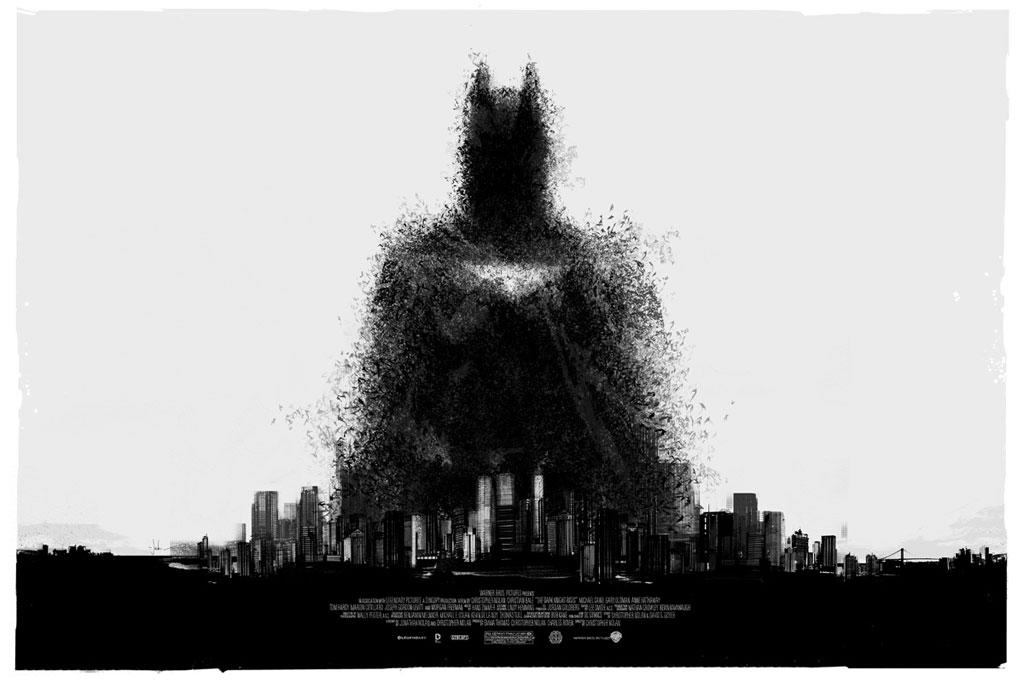 "Mondo's Comic-Con Poster for ""The Dark Knight"" by Jock"