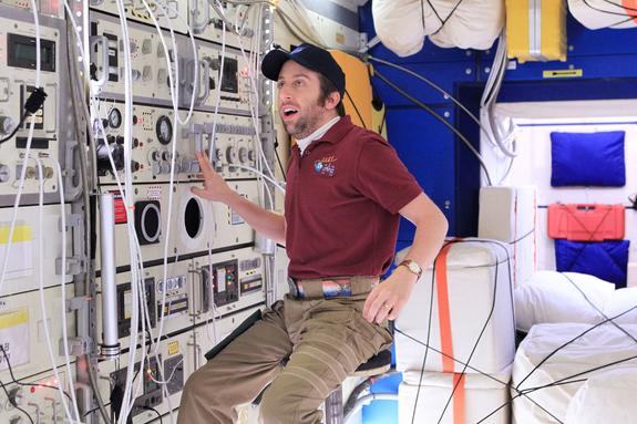 How 'The Big Bang Theory' Sent Howard Wolowitz to Space