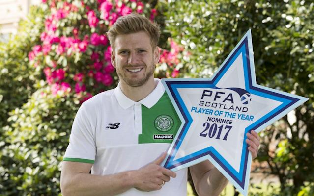 <span>Player of the year nominee Stuart Armstrong</span> <span>Credit: Rex Features </span>