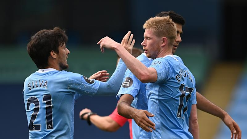 'I cannot recreate what David did' - De Bruyne not looking to make up for Silva's Man City departure