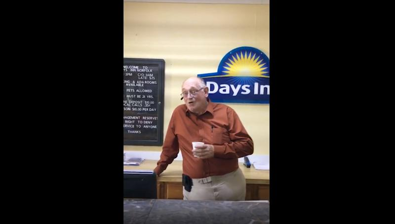Days Inn employee fired for harassing guest who took yogurt from breakfast bar: 'Come on, prison boy'