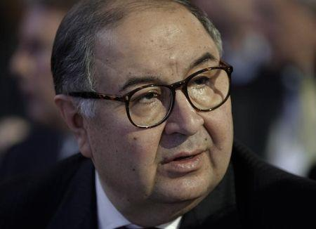 Russia's richest man Usmanov attends the annual meeting of the World Economic Forum (WEF) in Davos