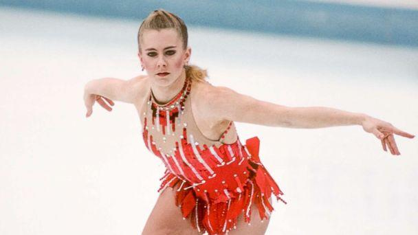 PHOTO: Tonya Harding competes in the Technical Program portion of the Women's Figure Skating competition of the 1994 Winter Olympics on Feb. 23, 1994 at the Hamar Olympic Hall in Lillehammer, Norway. (David Madison/Getty Images)