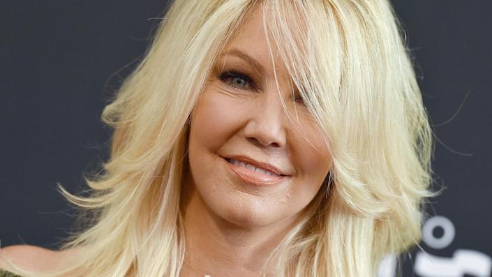 """Heather Locklear is engaged to high school sweetheart Chris Heisser. <span class=""""copyright"""">Photo by Axelle/Bauer-Griffin/FilmMagic/Getty Images</span>"""