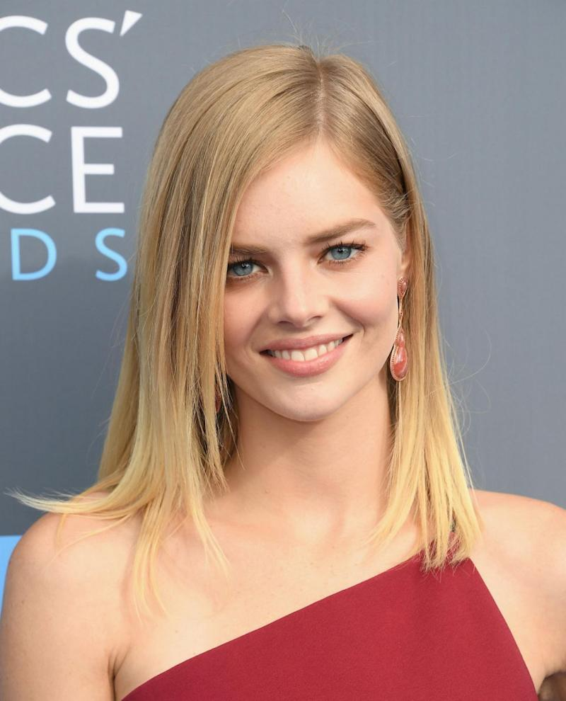 Former Home & Away star Samara Weaving was also at the awards. Photo: Getty