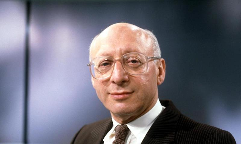 Sir Gerald Kaufman in 1990.