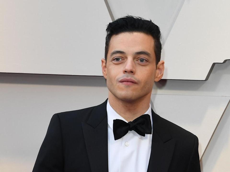 The actor won an Oscar for his role as Freddie Mercury in 'Bohemian Rhapsody'