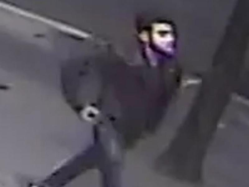 Officers from the Child Abuse and Sexual Offences Command released this CCTV image of a man sought in connection with the attack: Met Police
