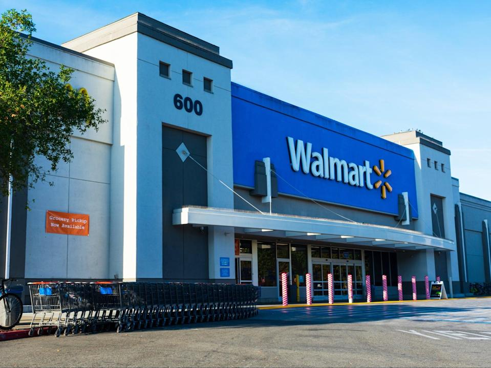 A Walmart store in California, US (Getty Images)