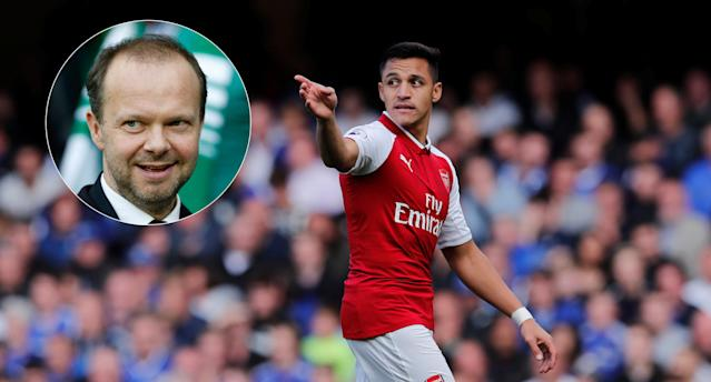 Alexis Sanchez and Ed Woodward