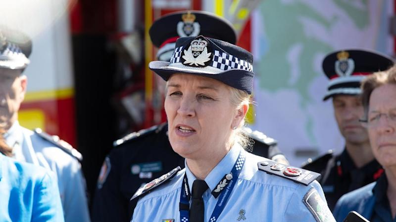 A woman says Commissioner Katarina Carroll should have sacked an officer for leaking her address