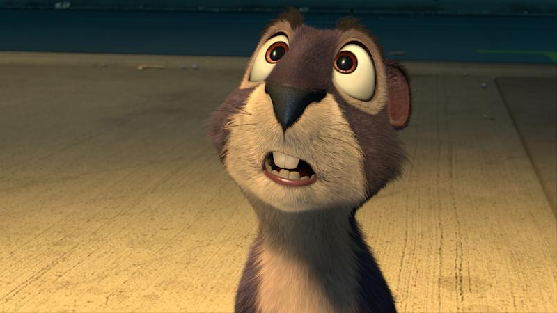 Surly the squirrel, voiced by Will Arnett