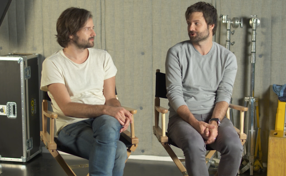 Matt and Ross Duffer, also known collectively as the Duffer Bros., chatted with Yahoo Entertainment ahead of the premiere of season two of 'Stranger Things.' (Photo: Yahoo)