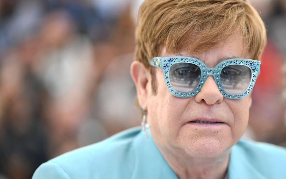 Sir Elton John: He's still standing (up for young British musicians) - AFP