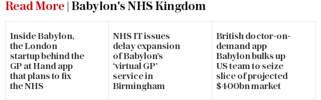 Read More | Babylon's NHS Kingdom