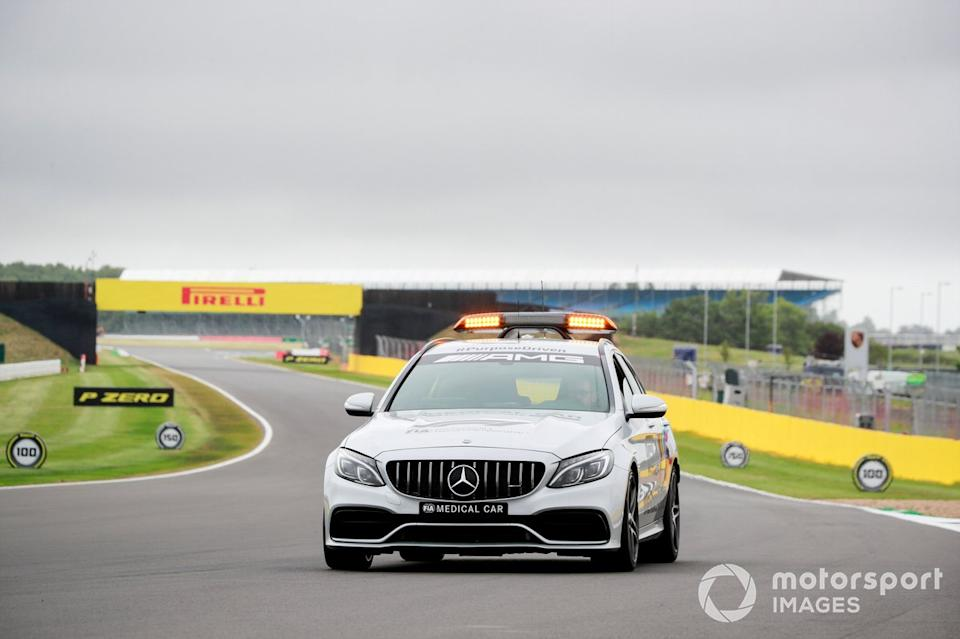 """Safety Car <span class=""""copyright"""">Steven Tee / Motorsport Images</span>"""