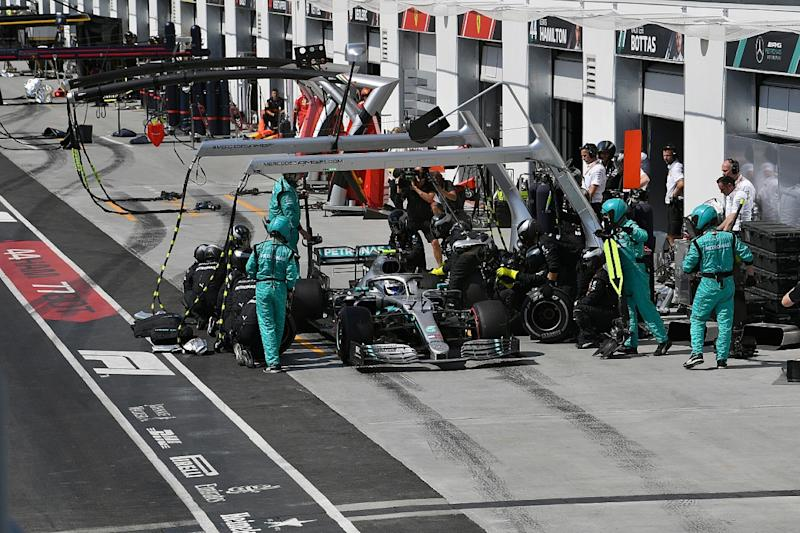 Mercedes surprised by cooling change pace boost