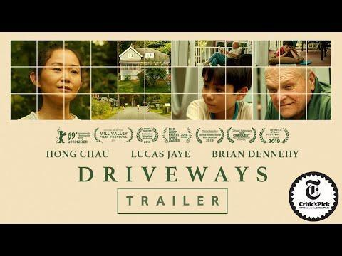 """<p><em>Driveways</em> isn't simply one of the late Brian Dennehy's final performances—it's also one of his finest. In Andre Ahn's touching indie, Dennehy is Korean War vet Del, who comes to befriend socially awkward young Cody (Lucas Jaye) after the boy and his mother Kathy (Hong Chau) take up temporary residence next door, cleaning out the pigsty that used to belong to Kathy's deceased sister. All three of these characters are suffering in their own distinct ways, due to a combination of loss, loneliness and fear, and Ahn (working from Hannah Bos and Paul Thureen's precise script) intertwines their plights with few contrivances and a potent measure of empathy, especially once Del and Cody begin developing an unexpected bond. Be it Kathy going through her sister's things and cleaning a bathtub soiled by a cat's corpse, or Del caring for his VFW pal Roger (Jerry Adler), who's slowly losing his mind, the specter of death—and the memories summoned up by the end of the road—looms large over the proceedings, culminating in a shattering Dennehy speech of irreparable sorrow. <br><br><a class=""""link rapid-noclick-resp"""" href=""""https://www.amazon.com/Driveways-Hong-Chau/dp/B084TM2WFP?tag=syn-yahoo-20&ascsubtag=%5Bartid%7C10054.g.29500577%5Bsrc%7Cyahoo-us"""" rel=""""nofollow noopener"""" target=""""_blank"""" data-ylk=""""slk:Watch Now"""">Watch Now</a></p><p><a href=""""https://www.youtube.com/watch?v=0-j1p-U7nKw"""" rel=""""nofollow noopener"""" target=""""_blank"""" data-ylk=""""slk:See the original post on Youtube"""" class=""""link rapid-noclick-resp"""">See the original post on Youtube</a></p>"""