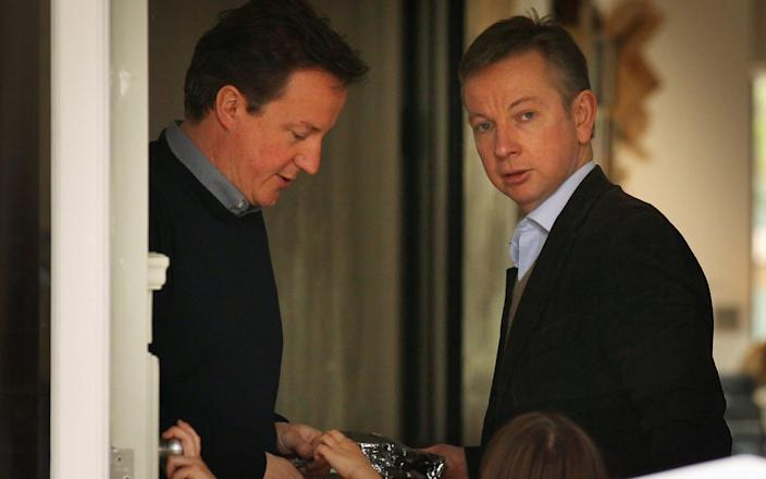 Michael Gove and David Cameron were once close friends - Getty