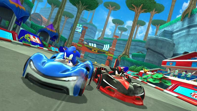 'Sonic Racing' is one of the first games scheduled to appear on Apple Arcade. (Image: Apple)