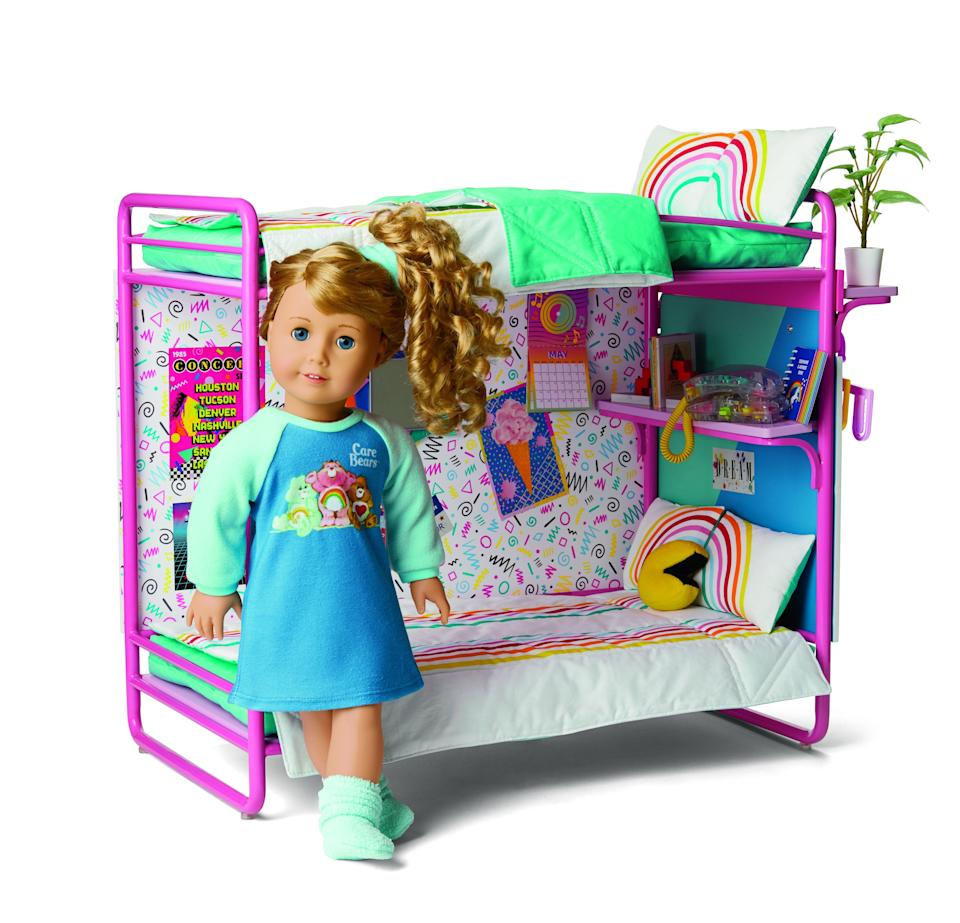 The doll's accessories include true '80s throwbacks.  (Photo: American Girl)