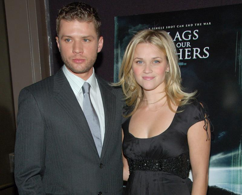 Reese Witherspoon disc... Ryan Phillippe Wedding
