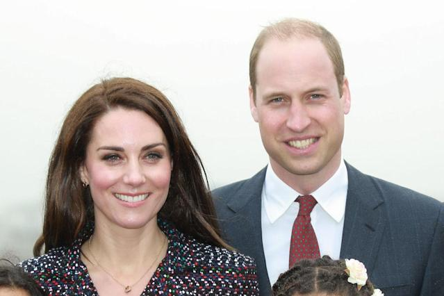 Will and Kate's announcement was left out of the video. (Getty)
