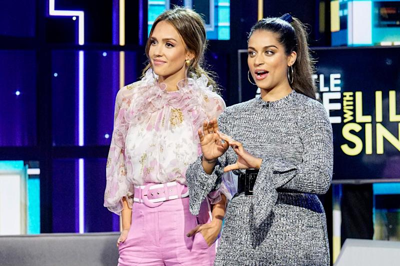 A Little Late host Lilly Singh apologizes for turban joke during Jessica Alba interview