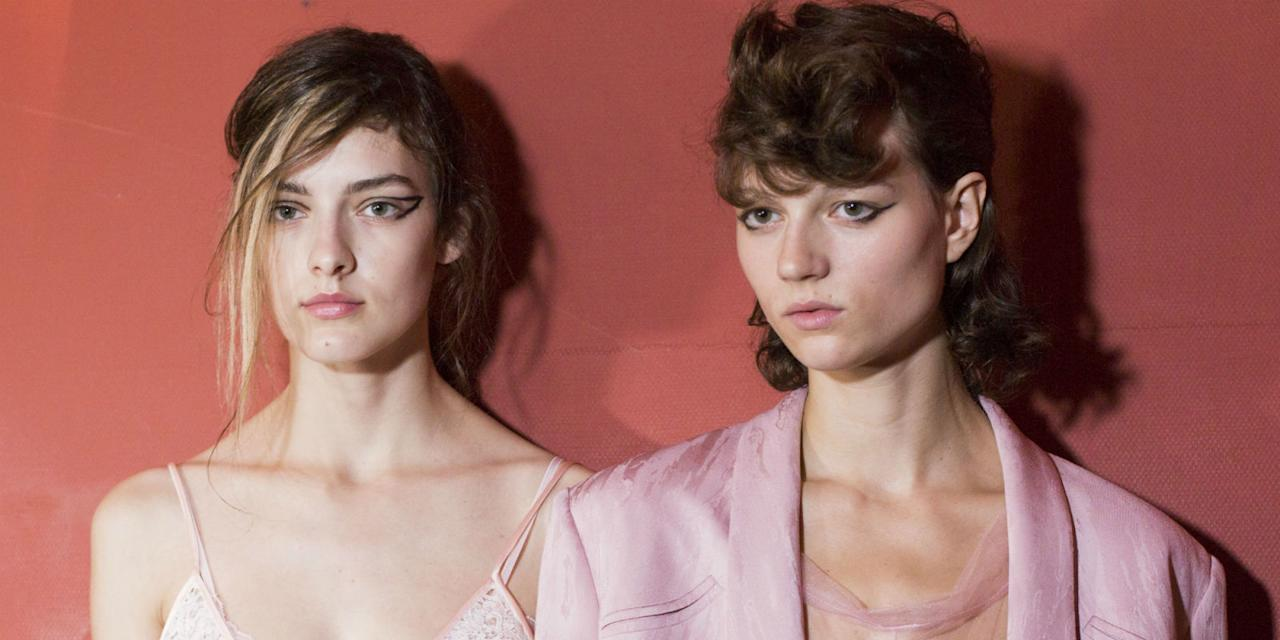 <p>Whether it's elaborate embellished updos, an 80s perm revival or the fash crowd's go-to 'I woke up like this' hair, fashion month is the place to get all your hair inspo for next season. From Chanel and Fendi, to Ashley Williams and Molly Goddard, check out the best backstage hairstyles and trends from fashion week SS18, right here.</p>