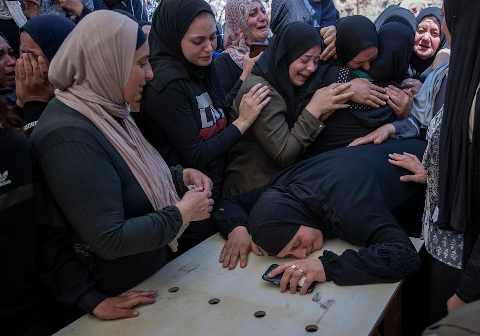 APTOPIX Israel Palestinians (Copyright 2021 The Associated Press. All rights reserved)