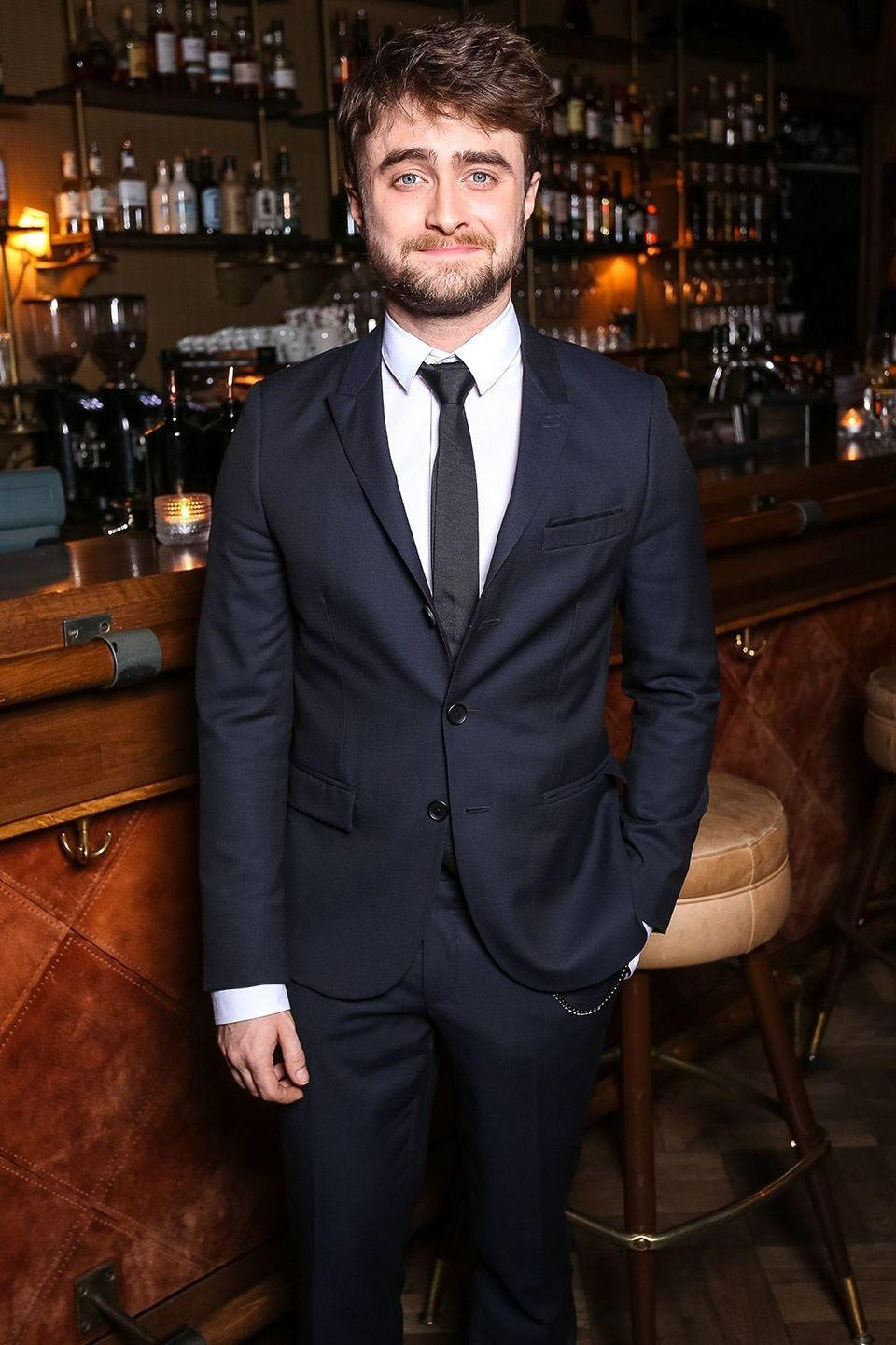 """<p>In an interview with <a href=""""http://www.telegraph.co.uk/films/0/daniel-radcliffe-on-alcoholism-starving-himself-harry-potter---a/"""" rel=""""nofollow noopener"""" target=""""_blank"""" data-ylk=""""slk:The Telegraph"""" class=""""link rapid-noclick-resp""""><em>The Telegraph</em></a> last year the<em> Harry Potter</em> star discusses his long road to sobriety throughout the later years of filming the famed film franchise that led to his feelings now toward the substance. """"It's lovely. I barely think about it [alcohol]"""" he explained. </p>"""