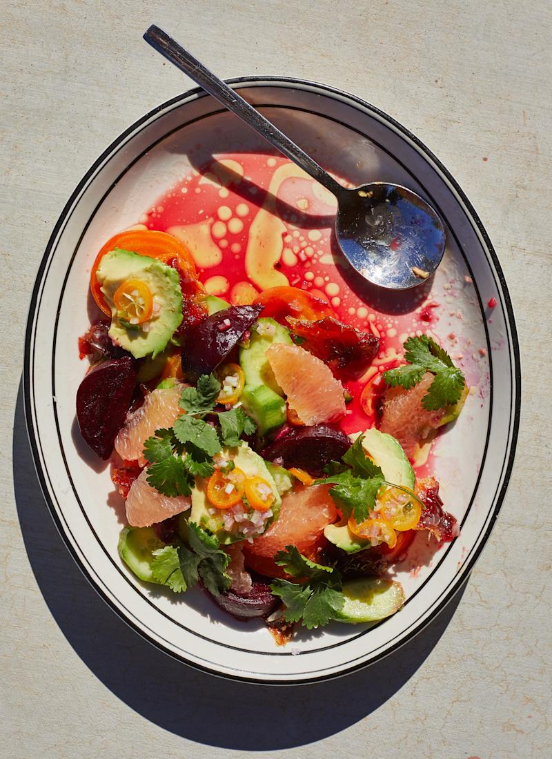A citrus salad with the perfect balance of, yes, salt, fat, acid, and heat.