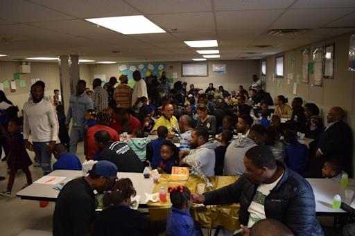 """Chester Community Charter School Kindergarteners and First-Graders Read Books, Presented Special Gifts to 150 Fathers and Male Guardians at Annual """"Doughnuts For Dads"""" Program"""