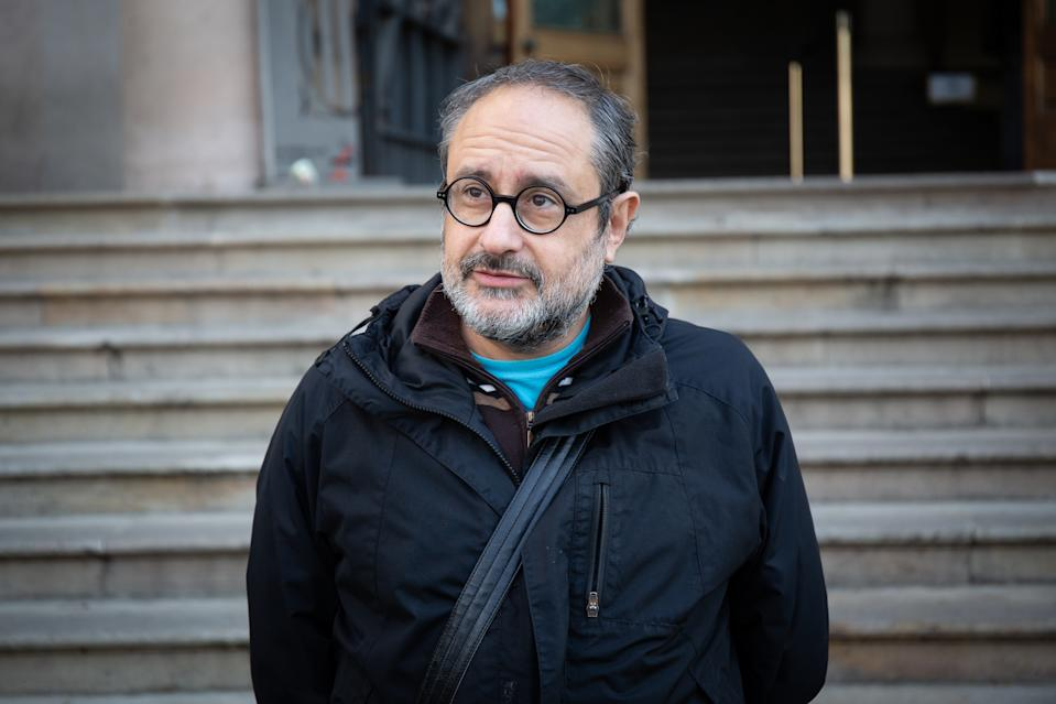 Antonio Baños, antiguo diputado de la CUP en el Parlament de Cataluña. (Foto: David Zorrakino / Europa Press / Getty Images).