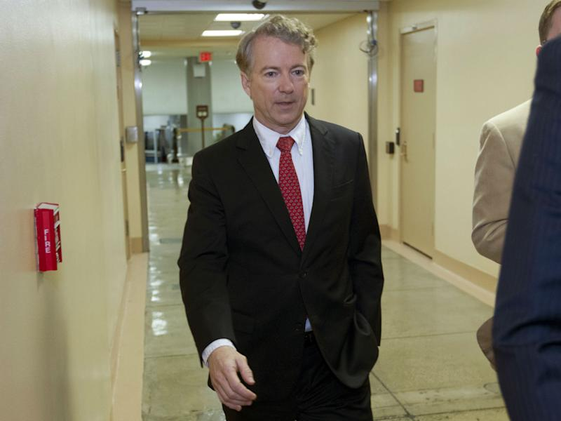 Rand Paul has an affinity for holding up Senate votes to make a point: AP