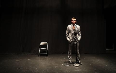 """White nationalist Richard Spencer, who popularised the term """"alt-right"""" during a press conference at the Curtis M. Phillips Center for the Performing Arts on October 19, 2017 in Gainesville, Florida - Credit: Getty"""